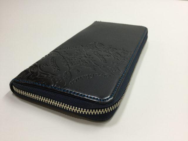 Orobianco(オロビアンコ)のお財布のスライダー(スラス)交換が完了しました(愛知県一宮市K様)after02