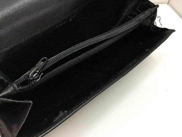 Vivienne Westwood(ヴィヴィアンウエストウッド)のお財布のファスナー交換が完了しました(沖縄県浦添市I様) before