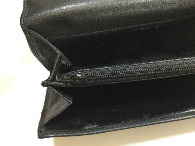 Vivienne Westwood(ヴィヴィアンウエストウッド)のお財布のファスナー交換が完了しました(沖縄県浦添市I様)after02
