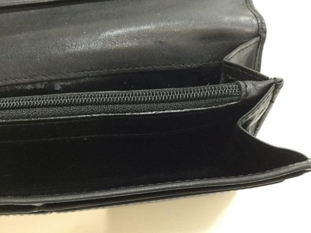 Vivienne Westwood(ヴィヴィアンウエストウッド)のお財布のファスナー交換が完了しました(沖縄県浦添市I様)after03