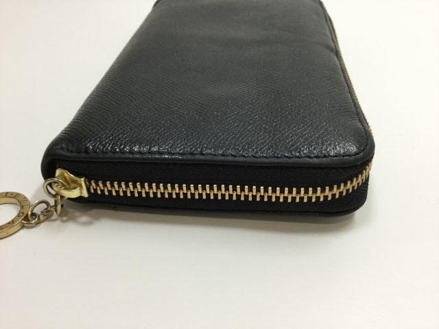 BVLGARI(ブルガリ)のお財布のファスナー交換が完了しました(東京都町田市E様)after02