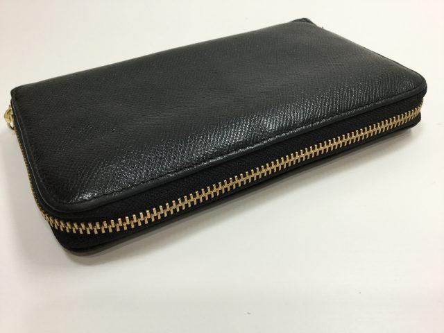 BVLGARI(ブルガリ)のお財布のファスナー交換が完了しました(東京都町田市E様)after03