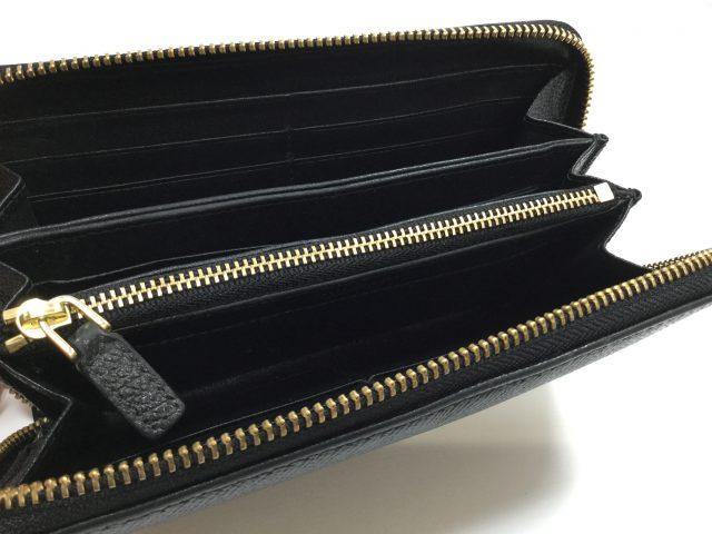 BVLGARI(ブルガリ)のお財布のファスナー交換が完了しました(東京都町田市E様)after04