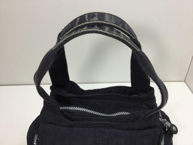 KIPLING(キプリング)のバッグの持ち手交換が完了しました(広島県呉市O様) before