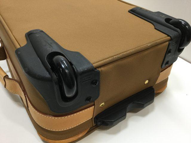 Lancel(ランセル)のスーツケースのキャスター交換が完了しました(愛知県名古屋市N様)after