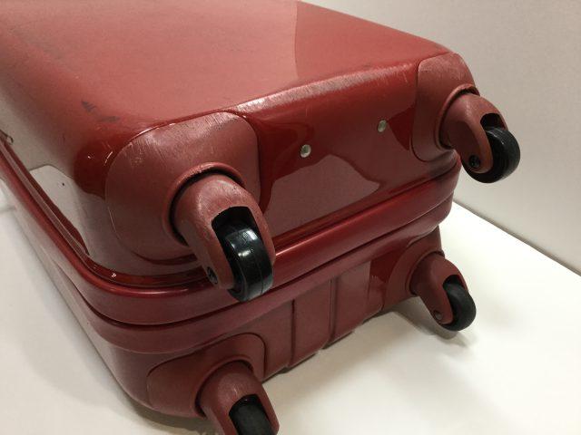 スーツケースのキャスター交換が完了しました(愛知県名古屋市K様)after