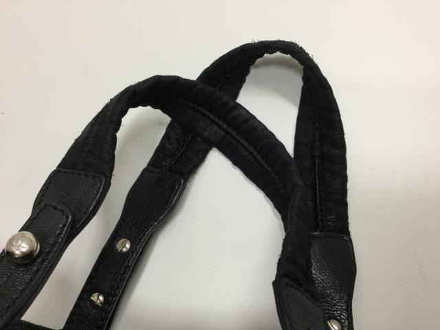 CHANEL(シャネル)のバッグの持ち手交換が完了しました(愛知県名古屋市Y様)before02