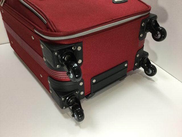 ACTUS(アクタス)のスーツケースのキャスター交換が完了しました(愛知県名古屋市H様) after
