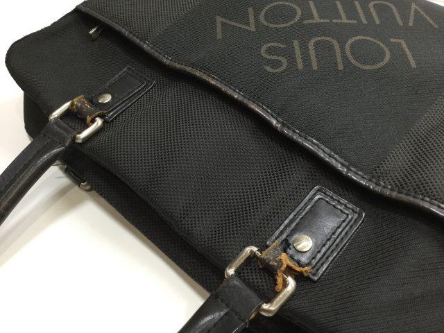 Louis Vuitton(ルイ・ヴィトン)のバッグのループ交換が完了しました(愛知県名古屋市K様) before