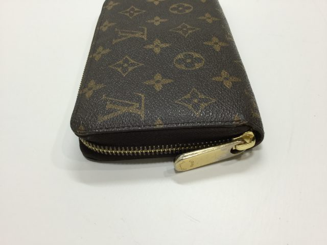 Louis Vuitton(ルイヴィトン)のお財布のスライダー交換が完了しました(神奈川県小田原市K様) after