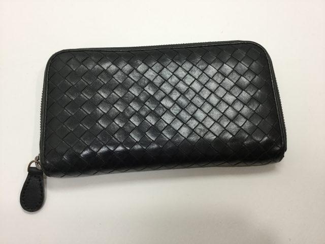 BOTTEGA VENETA(ボッテガヴェネタ)のお財布の引き手作成が完了しました(愛知県尾張旭市H様) after