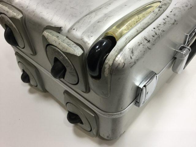 ZERO HALLIBURTON(ゼロハリバートン)のスーツケースのキャスター交換が完了しました(愛知県春日井市I様)after02