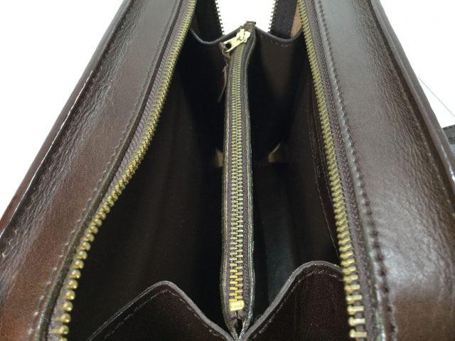 セカンドバッグの内張り交換が完了しました(秋田県男鹿市S様)after03