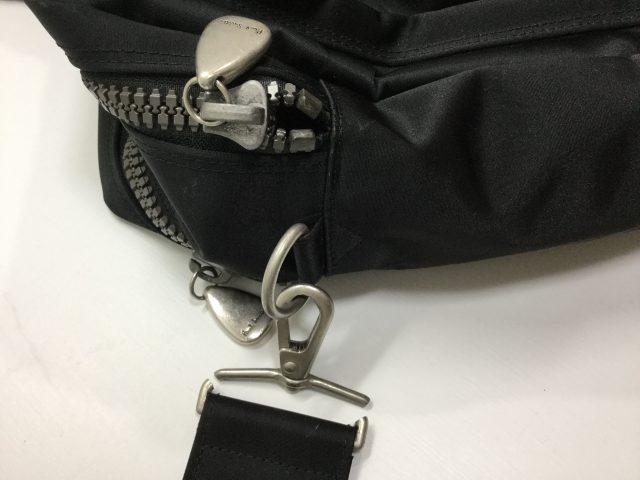 Paul Smith(ポール・スミス)のバッグの金具交換が完了しました(大阪府八尾市M様) before