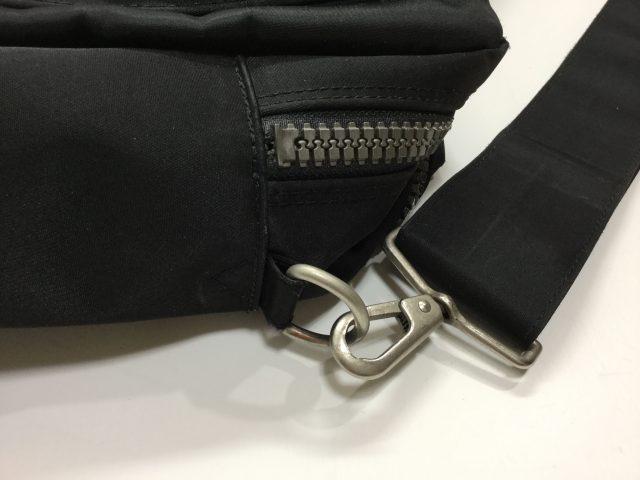Paul Smith(ポール・スミス)のバッグの金具交換が完了しました(大阪府八尾市M様)before02