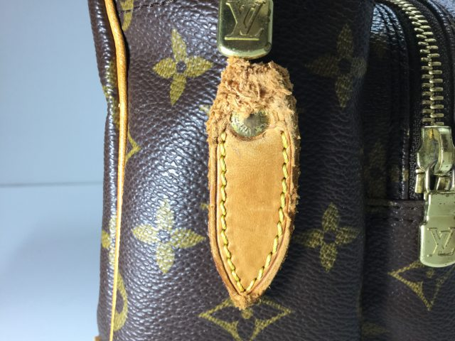 Louis Vuitton(ルイ・ヴィトン)のバッグのループ交換が完了しました(北海道二海郡N様)before02