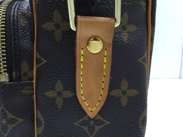 Louis Vuitton(ルイ・ヴィトン)のバッグのループ交換が完了しました(北海道二海郡N様)after