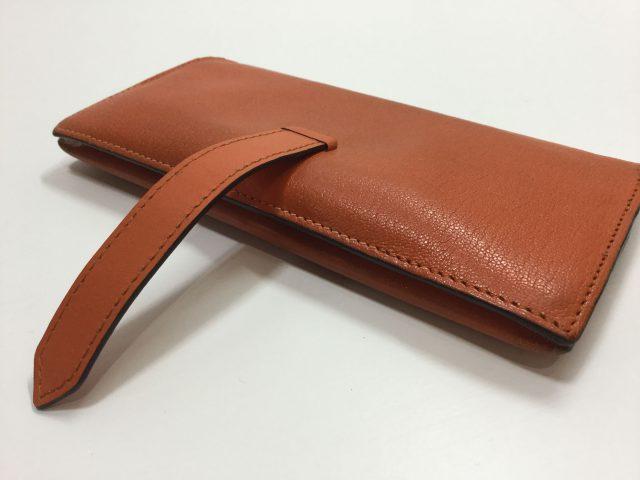 エルメス(Hermès)のお財布のベルト・ループ作成、ほつれ縫いが完了しました(愛知県名古屋市M様)after