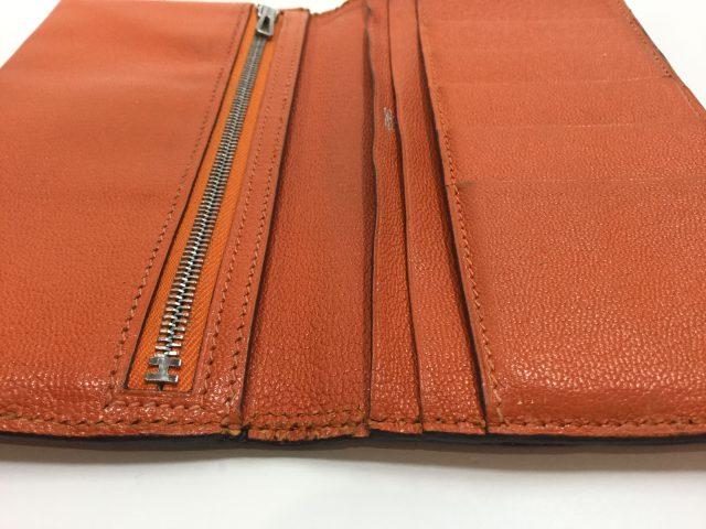 エルメス(Hermès)のお財布のベルト・ループ作成、ほつれ縫いが完了しました(愛知県名古屋市M様)after03