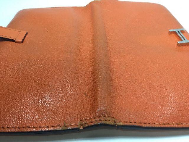 エルメス(Hermès)のお財布のベルト・ループ作成、ほつれ縫いが完了しました(愛知県名古屋市M様)after05