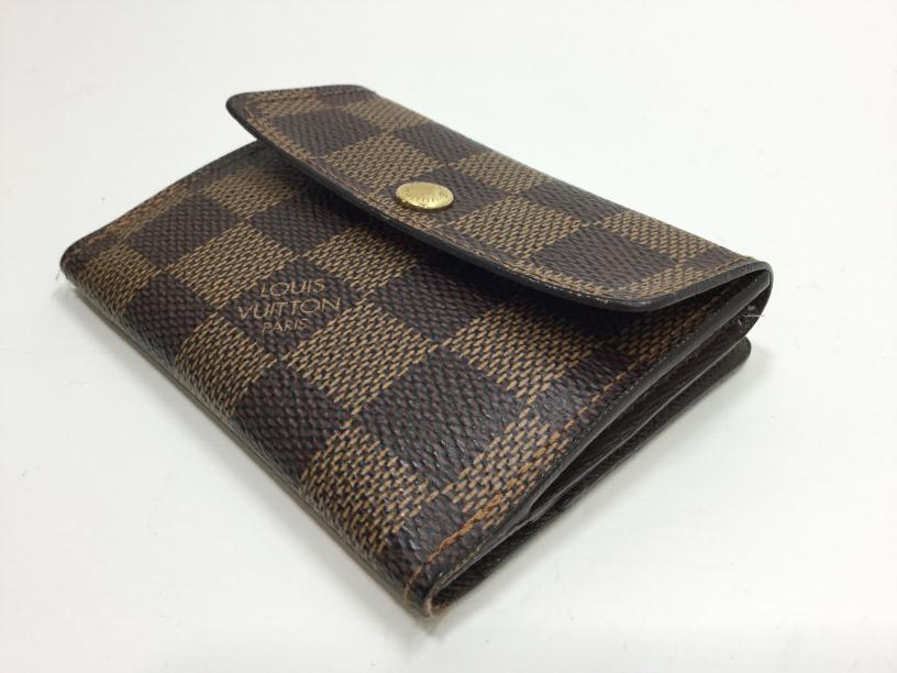 Louis Vuitton(ルイ・ヴィトン)のお財布のマチ補修が完了しました(愛知県名古屋市S様)before02
