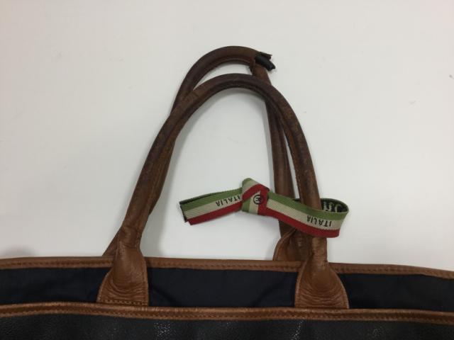 Orobianco(オロビアンコ)のバッグの持ち手交換修理が完了しました(愛知県名古屋市A様)before03