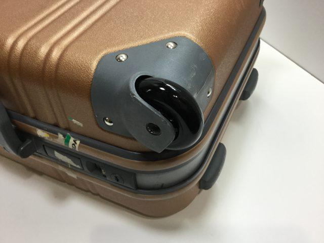 ACTUS(アクタス)のスーツケースのキャスター交換が完了しました(愛知県名古屋市Y様) after