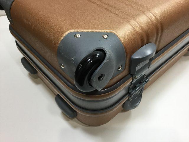 ACTUS(アクタス)のスーツケースのキャスター交換が完了しました(愛知県名古屋市Y様)after02