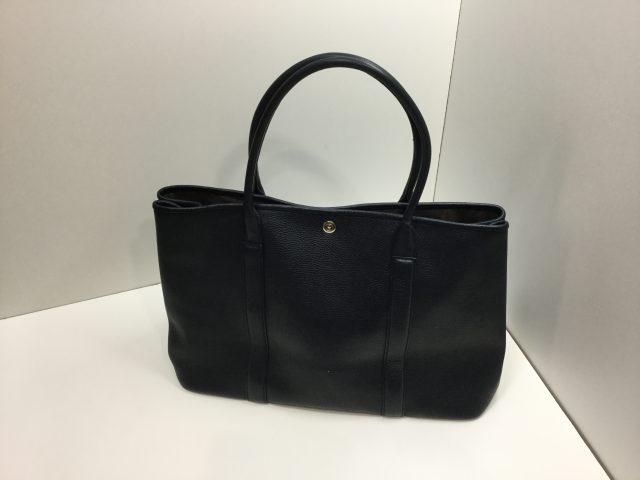 Barneys New York(バーニーズ ニューヨーク)のバッグの持ち手芯交換が完了しました(愛知県名古屋市T様)before