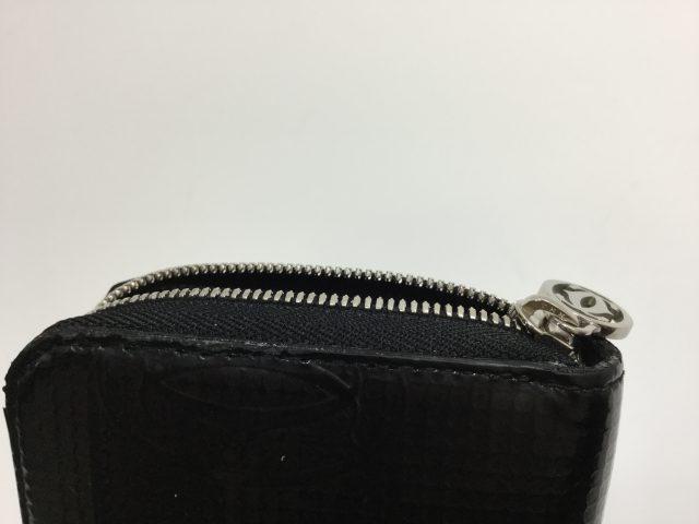 Cartier(カルティエ)のお財布のファスナー交換が完了しました(愛知県名古屋市K様)after02