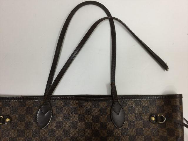 Louis Vuitton(ルイ・ヴィトン)のバッグの持ち手交換修理が完了しました(三重県津市T様) before