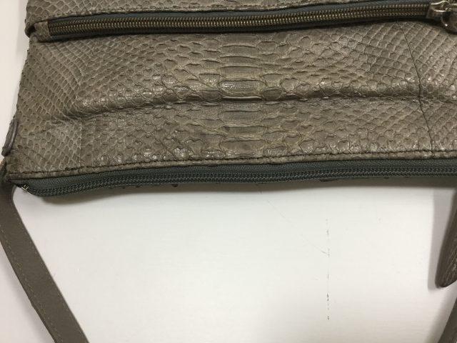SILVANO BIAGINI(シルヴァーノ ビアジーニ)のバッグのファスナー交換が完了しました(愛知県名古屋市K様) after