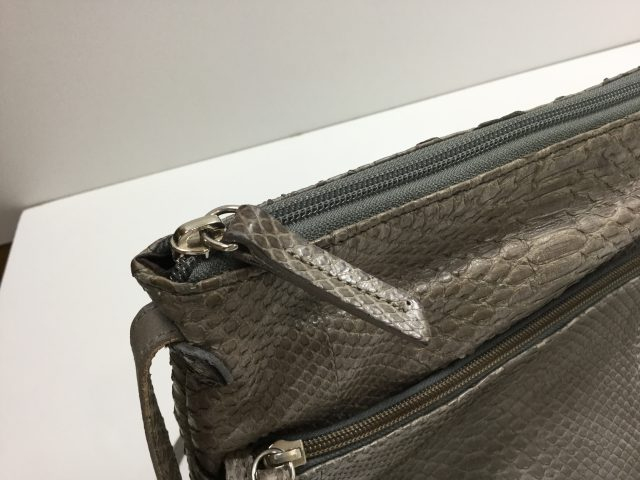 SILVANO BIAGINI(シルヴァーノ ビアジーニ)のバッグのファスナー交換が完了しました(愛知県名古屋市K様)after02