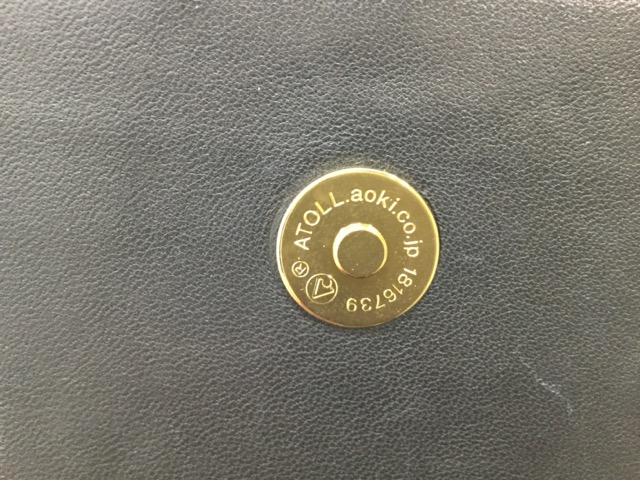 TORY BURCH(トリーバーチ)のショルダーバッグのマグネットボタン交換が完了しました(広島県東広島市T様)after02