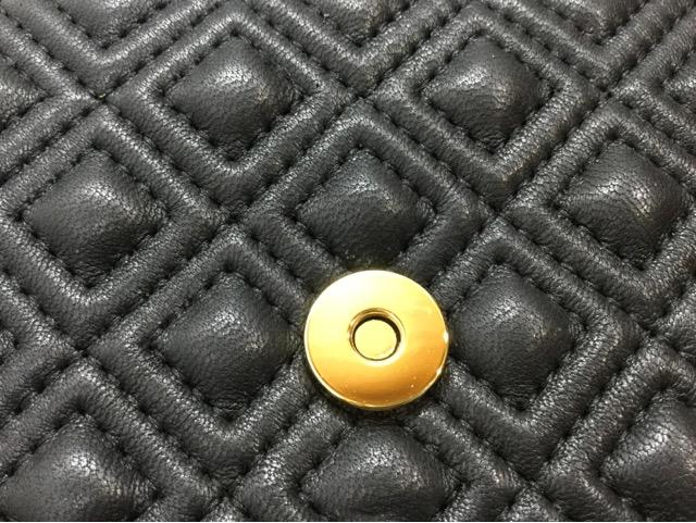TORY BURCH(トリーバーチ)のショルダーバッグのマグネットボタン交換が完了しました(広島県東広島市T様) after