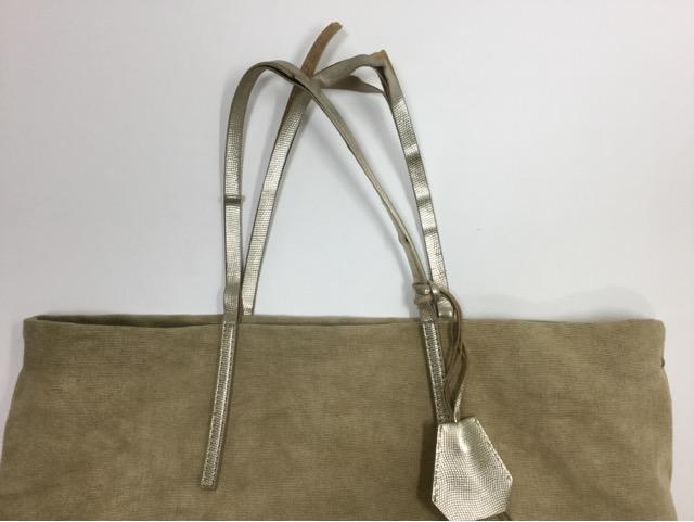 GIANNI CHIARINI(ジャンニ キャリーニ)のバッグの持ち手交換が完了しました。 (愛知県名古屋市T様)before02