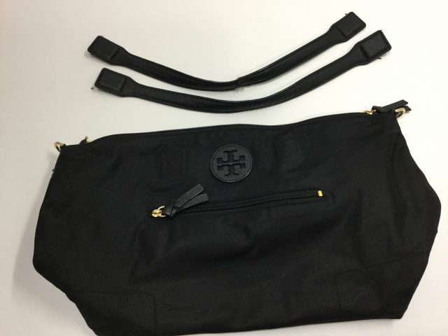 TORY BURCH(トリーバーチ)のバッグの持ち手作成交換が完了しました。 (愛知県名古屋市U様)before03