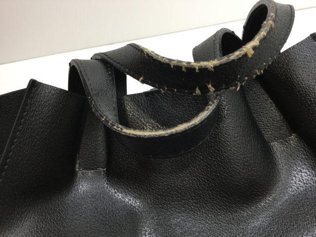 GIANNI CHIARINI(ジャンニ キャリーニ)のバッグの持ち手作成交換が完了しました。( 愛知県名古屋市N様)before02