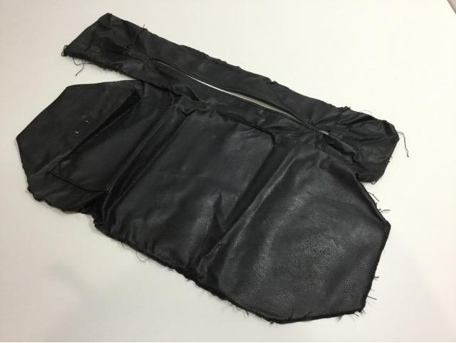 FENDI(フェンディ)のPEQUIN(ペカン)柄バッグの持ち手・ファスナー・内袋交換が完了しました(兵庫県神戸市O様)before03