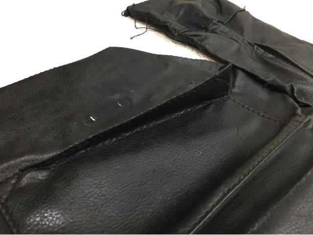 FENDI(フェンディ)のPEQUIN(ペカン)柄バッグの持ち手・ファスナー・内袋交換が完了しました(兵庫県神戸市O様)before04