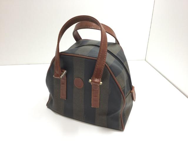 FENDI(フェンディ)のPEQUIN(ペカン)柄バッグの持ち手・ファスナー・内袋交換が完了しました(兵庫県神戸市O様) after