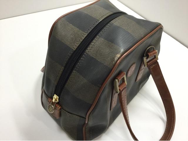 FENDI(フェンディ)のPEQUIN(ペカン)柄バッグの持ち手・ファスナー・内袋交換が完了しました(兵庫県神戸市O様)after04