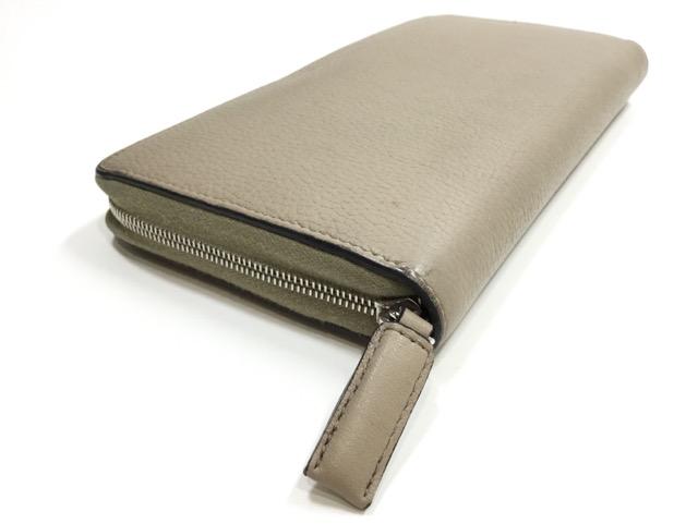 CELINE(セリーヌ)のお財布の引き手作成・取り付け(メインファスナー1カ所)が完了しました。(大阪府枚方市S様) after