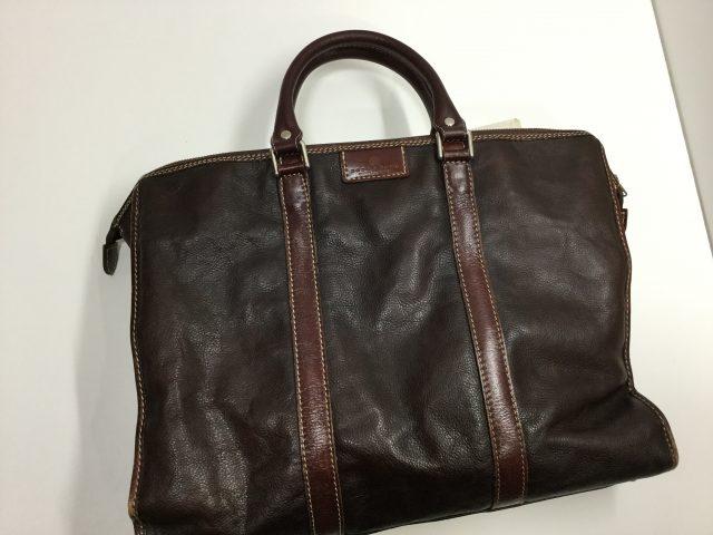 DEUX MONCX(デュモンクス)のcatana(カターナ)ブリーフケースバッグの持ち手の作成交換が完成しました。(愛知県名古屋市S様) after