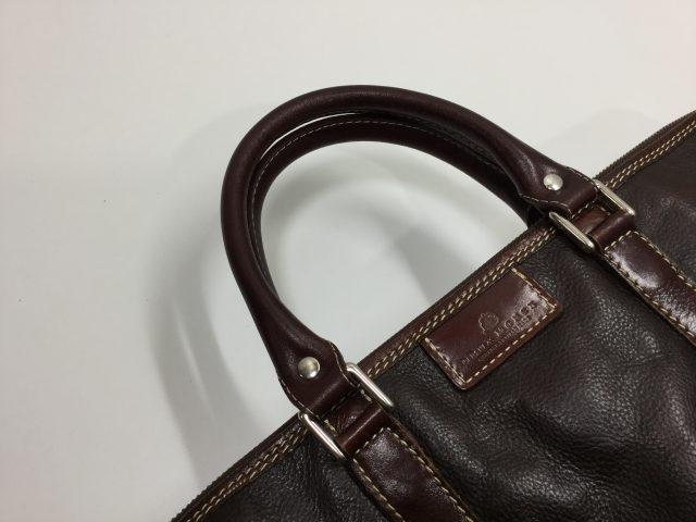 DEUX MONCX(デュモンクス)のcatana(カターナ)ブリーフケースバッグの持ち手の作成交換が完成しました。(愛知県名古屋市S様)after02
