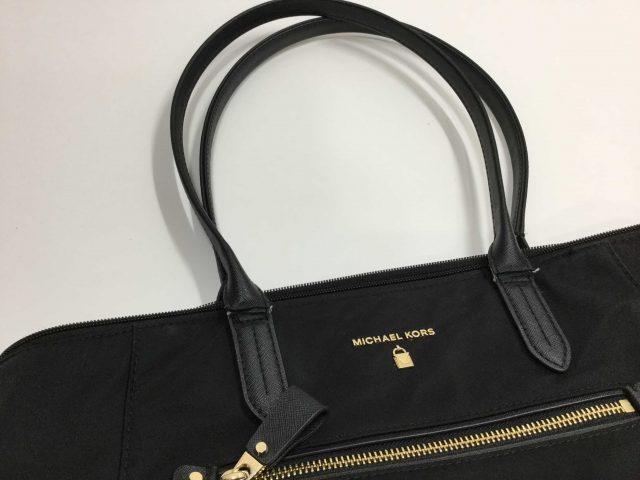 マイケルコース(Michael Kors)のバッグの持ち手作製交換が完了致しました。(愛知県稲沢市S様) before