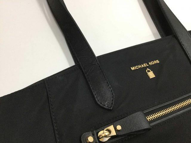 マイケルコース(Michael Kors)のバッグの持ち手作製交換が完了致しました。(愛知県稲沢市S様)after02