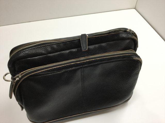 ロム オッセ プレッセ(LO HOMME PRESSE)のバッグのファスナー交換が完了致しました。(愛知県名古屋市H様) before