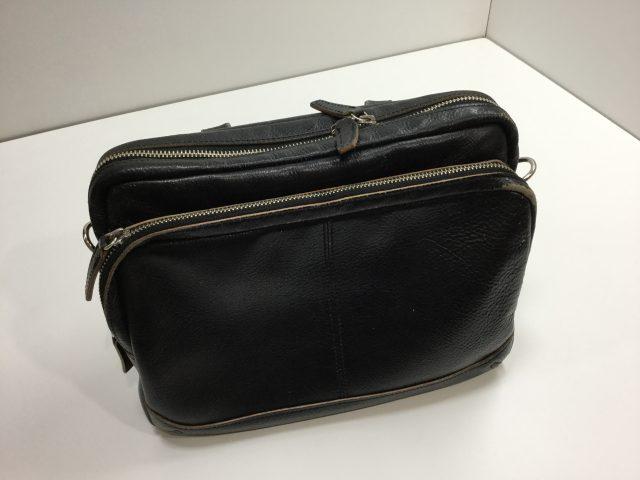 ロム オッセ プレッセ(LO HOMME PRESSE)のバッグのファスナー交換が完了致しました。(愛知県名古屋市H様) after