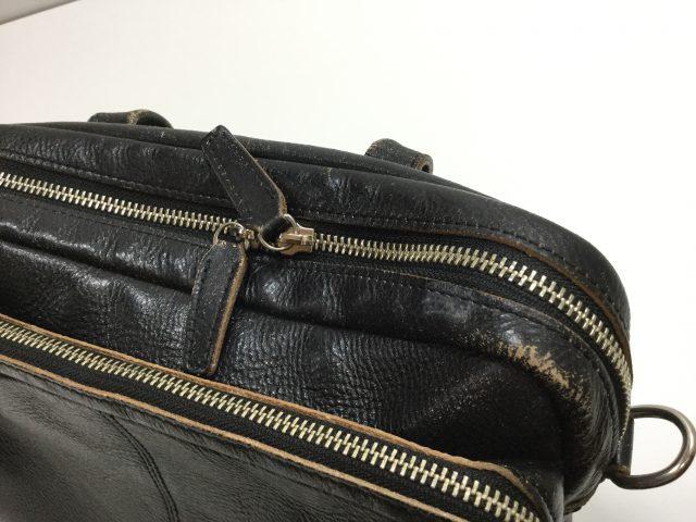 ロム オッセ プレッセ(LO HOMME PRESSE)のバッグのファスナー交換が完了致しました。(愛知県名古屋市H様)after02